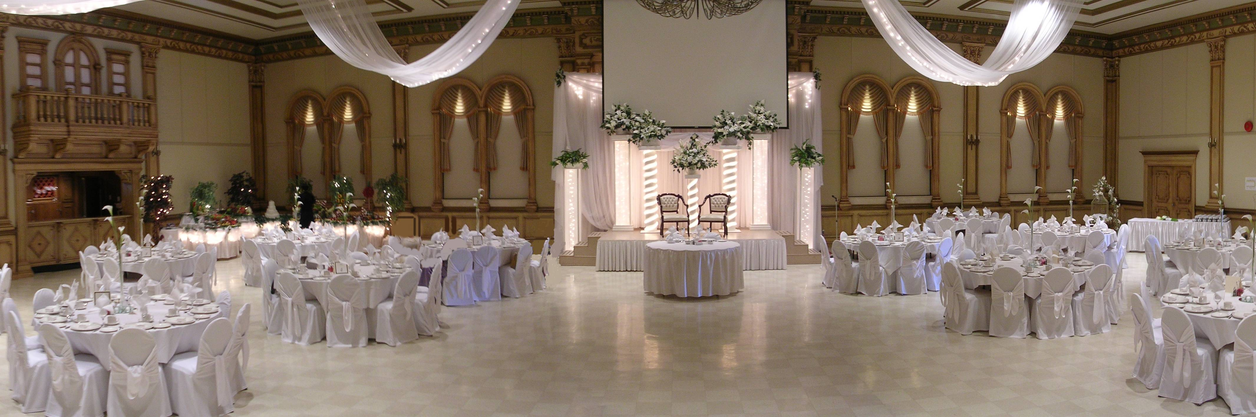 All white!! Simple but elegant | My Passion for Event Planning ...
